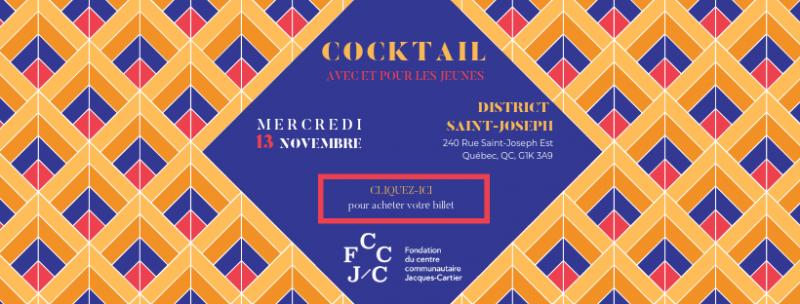 Bannière Cocktail - Fondation CJC